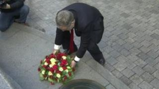 Wreath laying ceremony