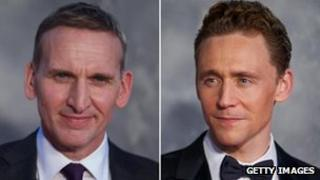 Christopher Eccleston and Tom Hiddleston