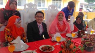 Wedding Celebration in Kampung Baru