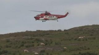 Irish Coastguard helicopter