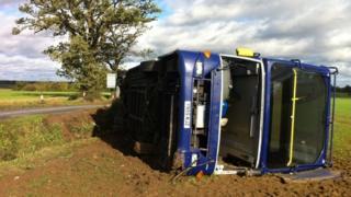 Bus in Hadleigh
