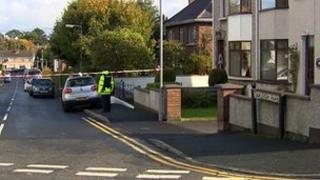 The fire was in a garage of a house at Oakleigh Park in Portadown