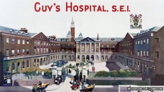 Guy's Hospital: fundraising poster, 1923