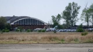 Deveselu disused airfield, file pic