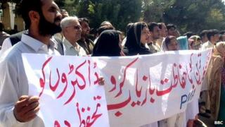 Medical staff held protests, demand government to do more to tackle kidnappings