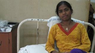 Nirmala in hospital