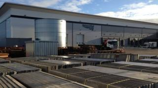 The Network Rail distribution centre