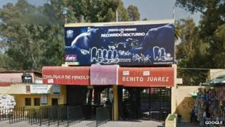 Parque Zoológico Benito Juárez, Mexico