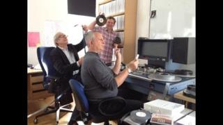 Ken Loach, Jonathan Morris and Paul Clegg