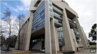 File photo of Australia's High Court