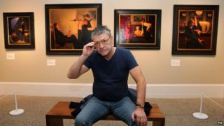 Jack Vettriano exhibition