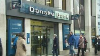 Danske Bank building in Belfast