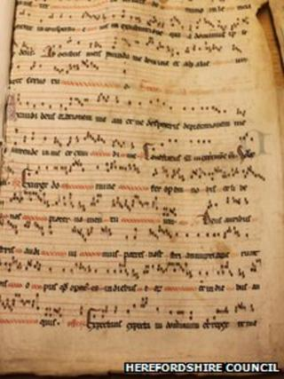 700-year-old sheet music found in council archive move ...