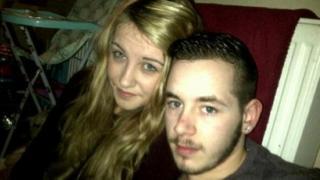 Carina MacKay and Ryan Guntrip