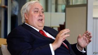 File photo: Clive Palmer