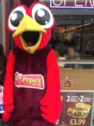 Pepe's Piri Piri mascot