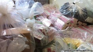 Fake tobacco goods seized by Gloucestershire Trading Standards