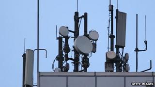 Mobile phone antennae