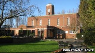 Grimsby crematorium