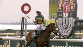 AP McCoy winning the Grand National in 2010