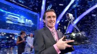 AP McCoy winning BBC Sports Personality of the Year 2010