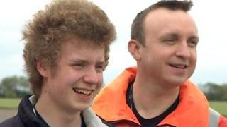 Benjamin Haughton and Dr Simon Lewis