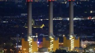 Vattenfall's combined heat and power station Berlin-Wilmersdorf in Berlin October 2, 2013.