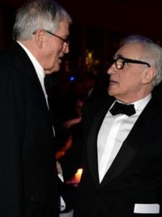 David Hockney and Martin Scorsese