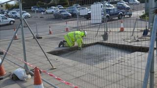 Foundation for WW2 Allied airmen memorial being laid