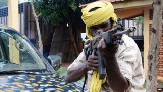 Seleka fighter (July 2013)