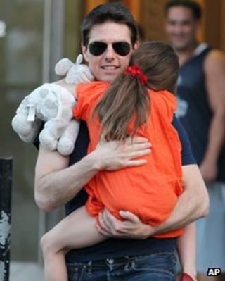 Tom Cruise with daughter Suri in July 2012