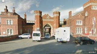 Lincoln Prison gates