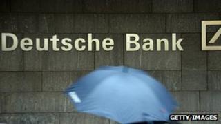 A picture of Deutsche Bank