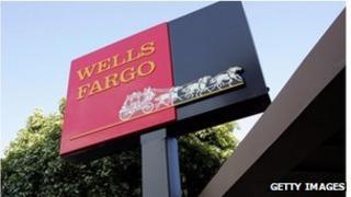Wells Fargo sign