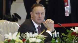 File photo: New Zealand Prime Minister John Key