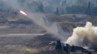Rockets fired on outskirts of Damascus. 5 Nov 2013
