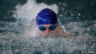 Elite swimmer