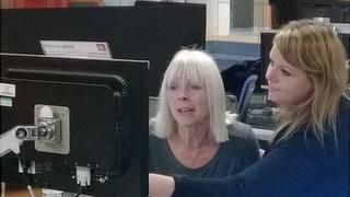 Sarah Treanor and her mum Patricia