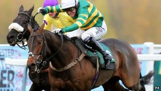Tony McCoy's 4,000th race win was on the horse Mountain Tunes, owned by JP McManus