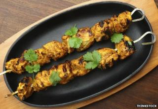 Kashmiri-style kebab