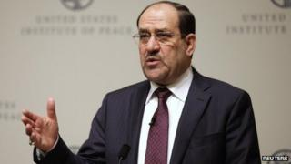 Nouri Maliki addresses the United States Institute of Peace (31 October 2013)