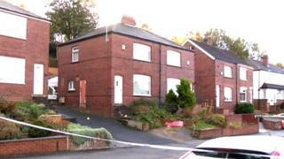 Scene of shooting at Blue Hill Crescent, Wortley, Leeds