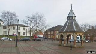 The buttercross in Bingham
