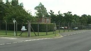 Longtown munitions depot
