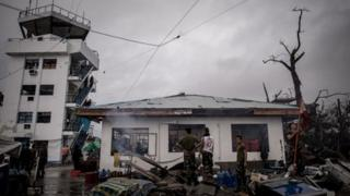 Super Typhoon Haiyan has destroyed many communities in the Philippines
