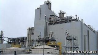 Indorama Polymers plant in Workington