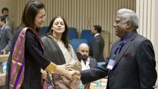 Central Bureau of Investigation (CBI) Director Ranjit Sinha (right)