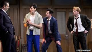 Brendan Coyle (Mickey), Colin Morgan (Skinny), Daniel Mays (Potts), Rupert Grint (Sweets)