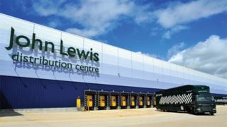 John Lewis' delivery centre in Milton Keynes