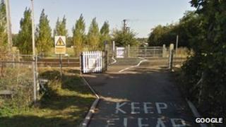 Gipsy Lane crossing, Needham Market